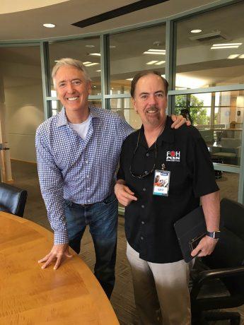 NAMM CEO Joe Lamond and Parnelli Awards Executive Producer Terry Lowe