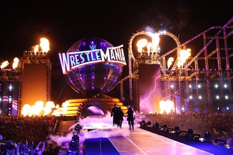 WrestleMania 33, an epic thrill ride for more than 75,000, was a live production masterpiece. Photos by Todd Kaplan