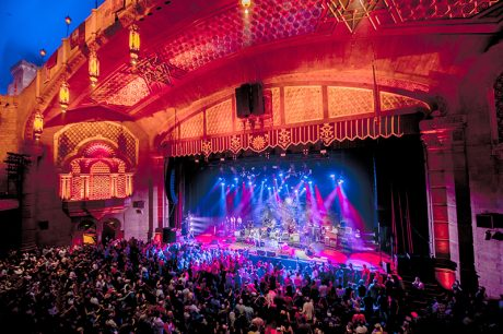 The Fox Theatre in Atlanta was packed for the party. Photo by Dave Vann