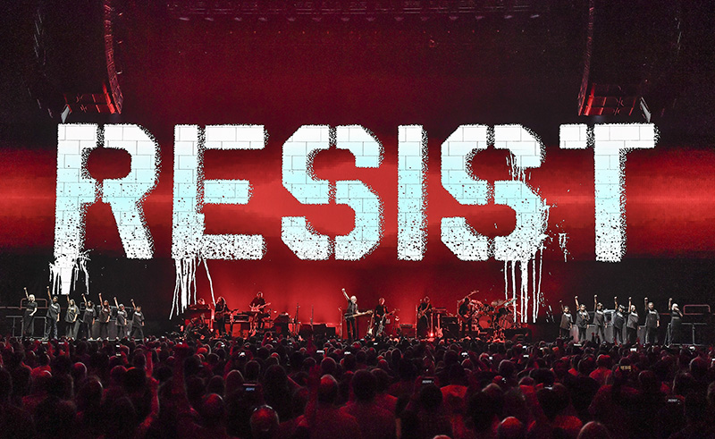 Roger Waters 2017 tour photo by Steve Jennings