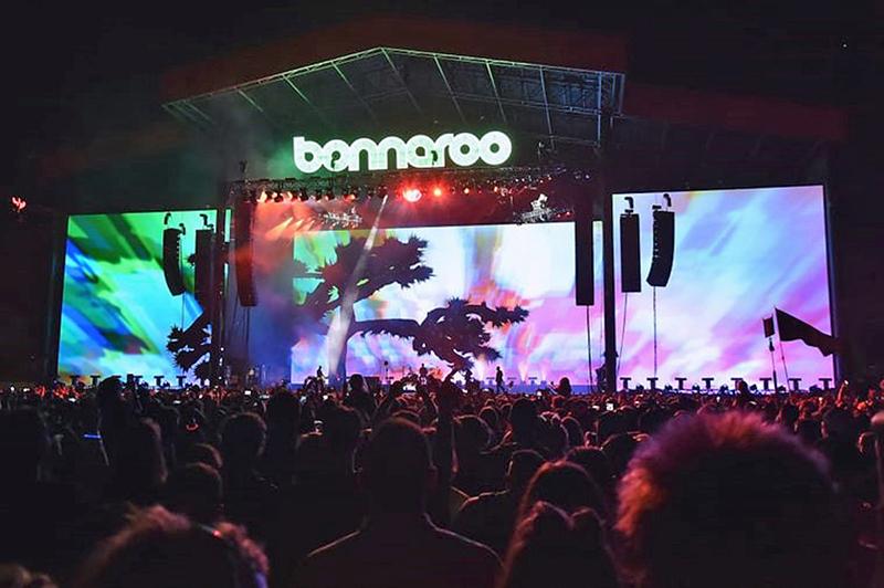 U2 performed at Bonnaroo this year