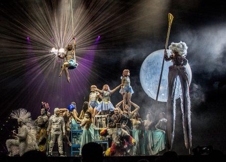 Scalada: Stelar, a Cirque du Soleil exclusive event in Andorra. Photo by Mikki Kunttu