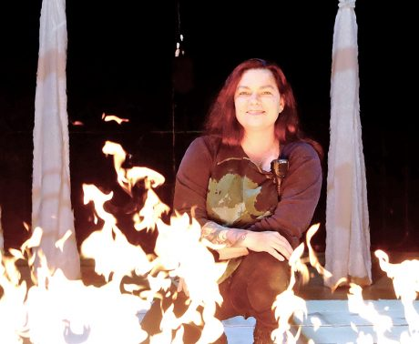 Dianne Fleming's passion for stagecraft led to a career in pyro and special effects