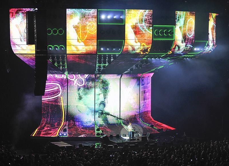 Ed Sheeran Divide tour photo by Steve Jennings