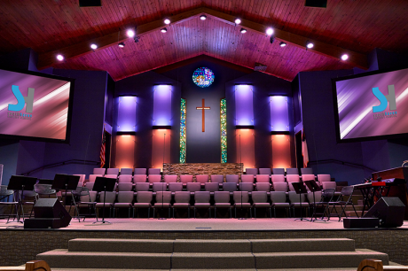 The church turned to Paragon 360 for an assist with their visual transformation.
