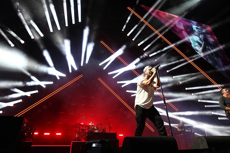 OneRepublic 2017 tour photo by Todd Kaplan