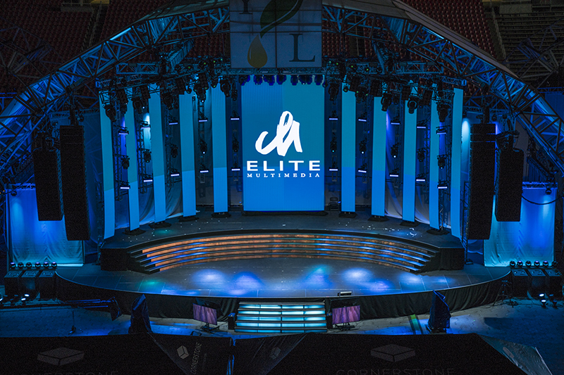Elite Multimedia provided gear and crew to support the 2017 event.