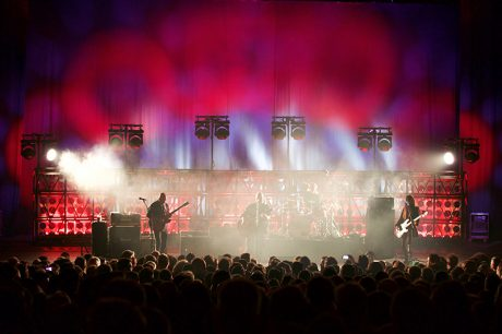 Pixies on tour. Photo by Myles Mangino
