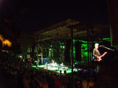 Steve Miller and Peter Frampton rocked Red Rocks in late July.