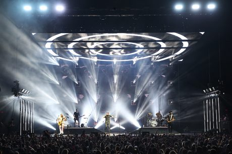 The tour itinerary included NYC's Madison Square Garden. Photo by Todd Kaplan