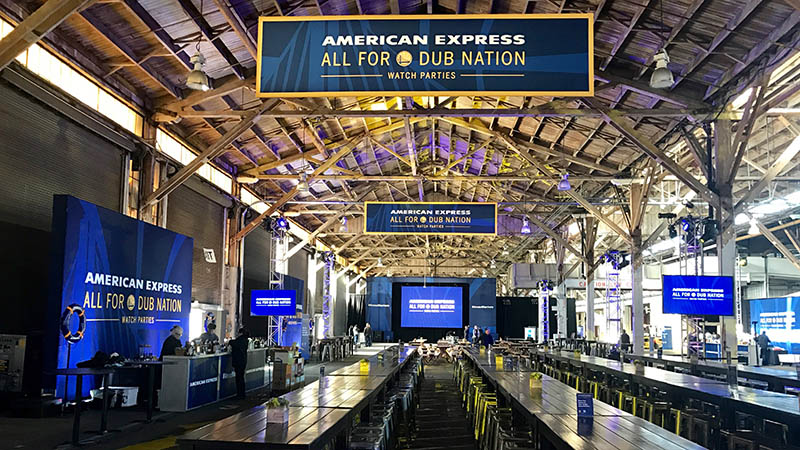 American Express watch party