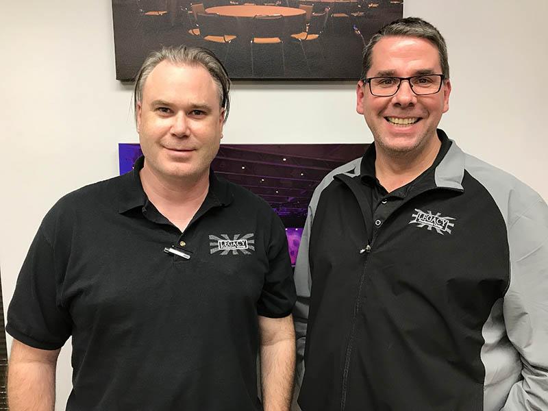 Tom Gorman and Tom McKnight of Legacy