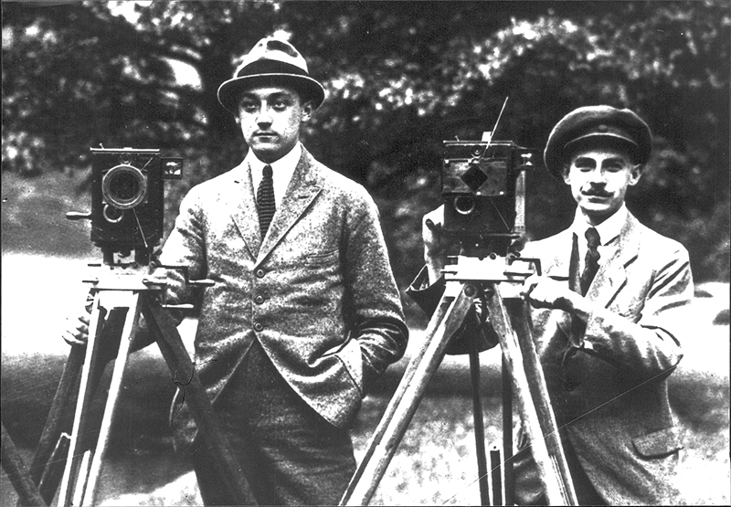 ARRI founders and friends Robert Richter and August Arnold.