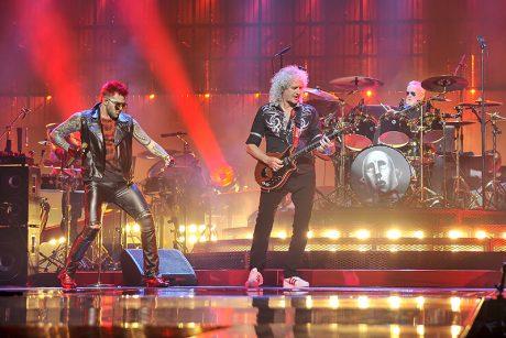 Queen + Adam Lambert 2017 tour photos by Steve Jennings