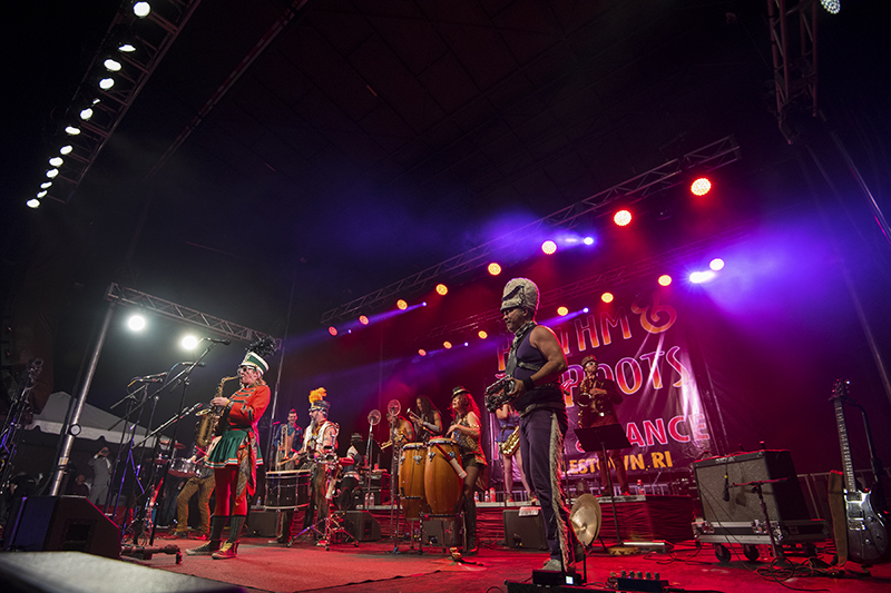 Cajun and Zydeco bands were on display. Photo by Michael Sparks Keegan