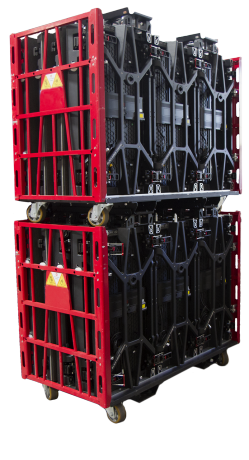 Oracle double-stacked touring carts