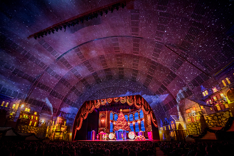 New 8K projections for Radio City Music Hall in NYC. Photo courtesy Radio City Music Hall - MSG
