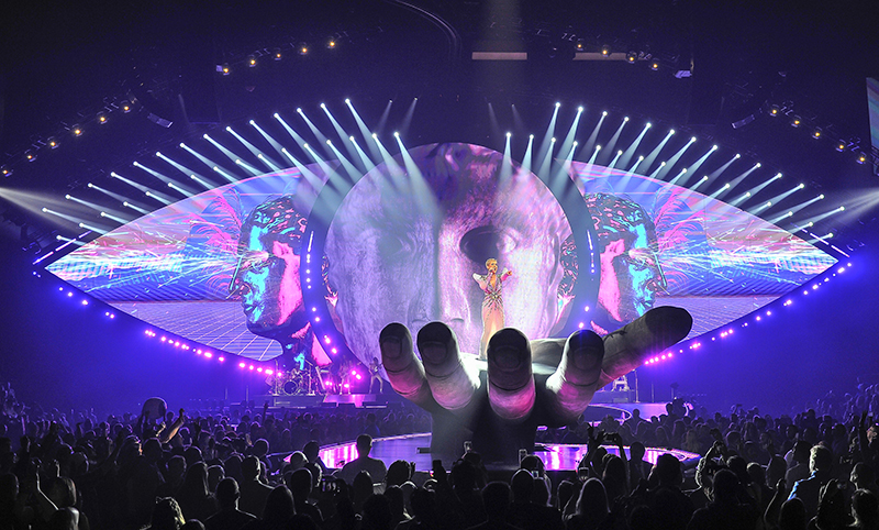Katy Perry Stage Design Witness Tour