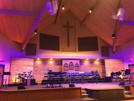 Altman Lighting Transforms The Worship Experience At