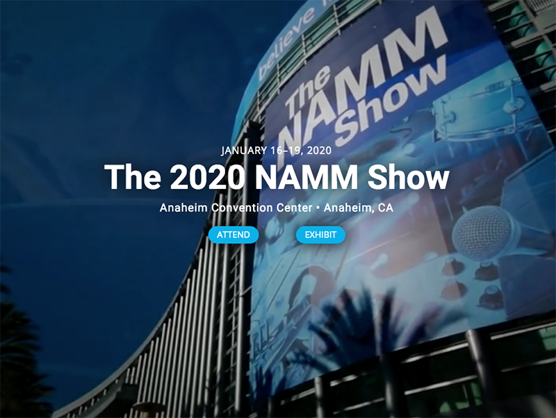 2020 Namm Show.The 2020 Namm Show To Feature Professional Development