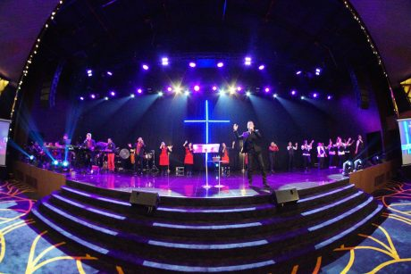 Asiis creates camera friendly church lighting with chauvet