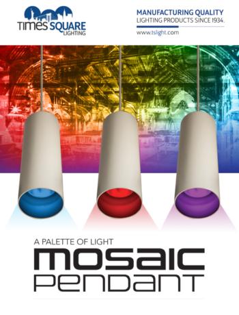 Times Square Lighting Presents The Mosaic Pendant Plsn