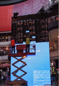 NanoLumens Installs Its Largest Suspended Display Solutions at GPT