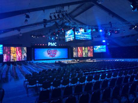 4Wall Entertainment Lights the 2018 Pan-Mass Challenge